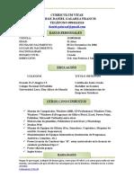 Curriculum Vitae Ing Daniel Galarza