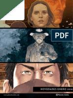 Planeta Comic gener 2018