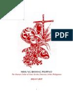 Misa Ng Bayang Pilipino PCNE 4