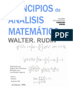 Principles of Mathematical Analysis Walter Rudin (Espanhol) .pdf