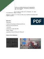 Informe de laboratorio de circuitos electronicos