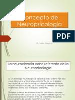 Concepto de Neuropsicología