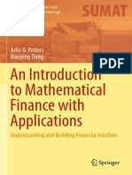 (Springer Undergraduate Texts in Mathematics and Technology) Arlie O. Petters, Xiaoying Dong-An Introduction to Mathematical Finance with Applications_ Understanding and Building Financial Intuition-S.pdf