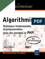 Algorithmique Techniques Fondamentales de Programmation Avec Des Exemples en PHP