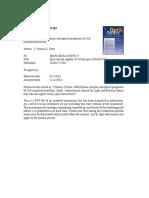 XRD Raman Analysis and Optical Properties of CuS Nanostructured Film
