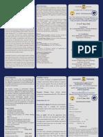 Brochure - AICTE - IsTE Sponsored Prg - Pharmacy