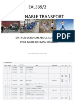 Intro to Sustainable Transport