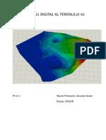 Modelul Digital Al Terenului 3d
