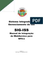 Manual Web Service Sao Goncalo