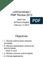 Antimicrobials i