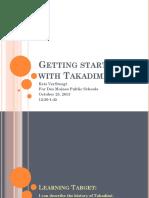 Takadimi for Dmps