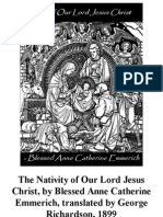 Nativity of Our Lord Jesus Christ, By Blessed Anne Catherine Emmerich