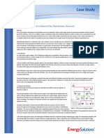 Cost Optimization of a Natural Gas Distribution Network