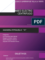 Bombeo Electro Centrifugo