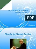 Principios de A W. Deming