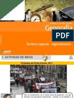 Clase 17 Territorio Regional Regionalización