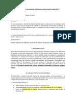 Plantilla Para La Presentación de Informes Técnicos Bajo La Norma IEEE