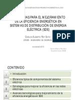 Eficiencia Sistemas Distrubucion Energia CARS