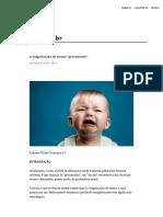 """A vulgarização do termo """"preconceito"""".pdf"""
