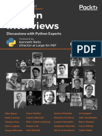 Python Interviews - Discussions With Prolific Programmers