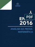 Matematica Analises Enem 2016 161119145750