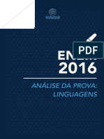 Linguagens Analises Enem 2016 161119145816