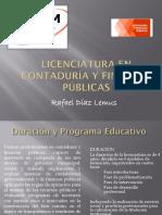 Licenciatura en Contaduría y Finanzas Públicas