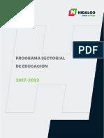 Programa Sectorial de Educación Hidalgo 2017-2022