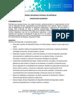 Diplomado Seguridad Integral de Empresas Elearning 012018