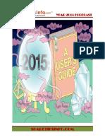 2015 Year Forecast Stockmarket
