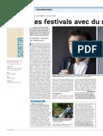 Des Festivals Avec Du Rire, Des Toiles Et Des Docs
