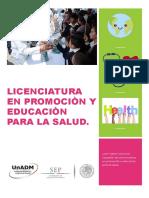 Licenciatura en Promociòn y Educaciòn Para La Salud