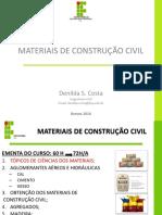Aula 2 -Materiais de Construção Civil