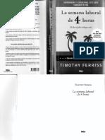 La Semana Laboral de 4 Horas - Tymothy Ferriss.pdf