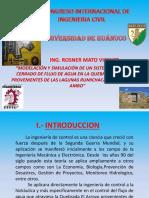 15 Nov - Mañana - 1ra Expo - Modelacion y Simulacion de Un Sistema de Control Cerrado de Flujo de Agua