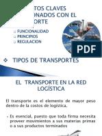 Trabajo de Transporte Logística.