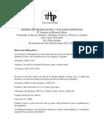 Sistema de Notacion IV Jornadas de Historia Politica