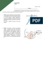 2nd Partial Exam Dynamics-2015-01
