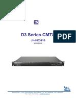CMTS Datasheet