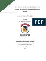 Implementación TICS oficiales Ejercito