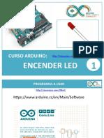 Curso Arduino - Curso 1- Encender Led (tutorial arduino)