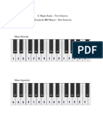 C-Major Scale Piano