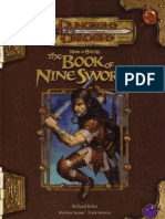 [D&D 3.5] Tome of Battle - The Book of Nine Swords