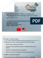 Assessing Market Opportunities for CO2 CCS in China