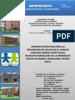 Entrega Definitiva Equipo MARACAIBO
