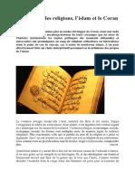 La Violence, Les Religions, l'Islam Et Le Coran - DR AL ADJAMI