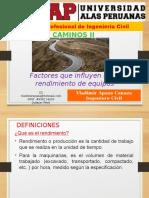 03 UAP EXPOSICION factores de rendimiento en maquinarias.pptx