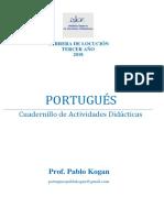 Cuadernillo de Actividades 2018 - Portugues Iser