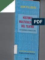 01 - Juan Villegas - Historia Multicultural Del Teatro y Las Teatralidades en América Latina - Cap. 3