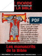 Manuscrits de La Bible